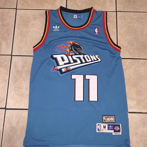 best sneakers 23692 7f85d Detroit Pistons Isaiah Thomas #11 Retro Throwback
